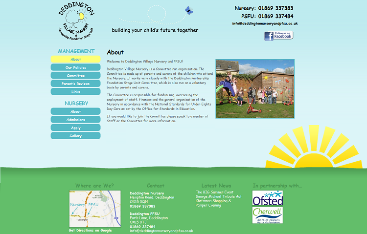 Nursery School Website
