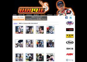 motorbike racer web design