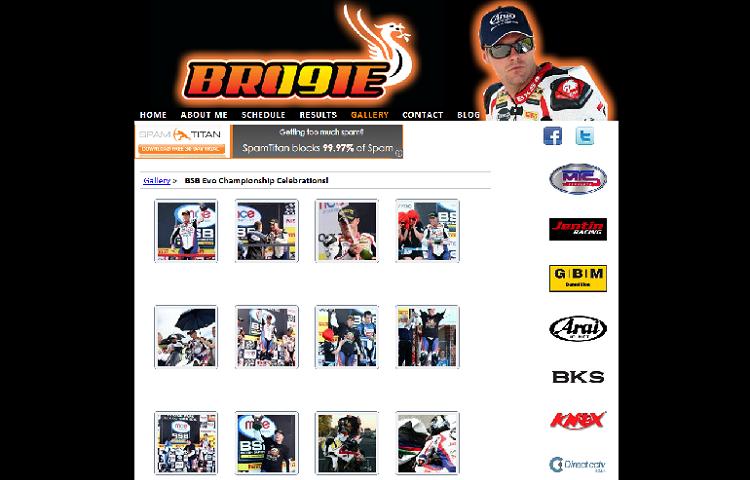 Motorbike Web Design