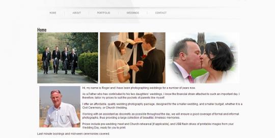 photography website designer