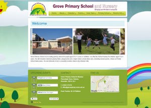 primary school website specialist