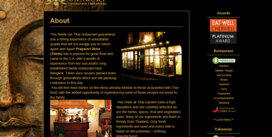 restaurant web design liverpool