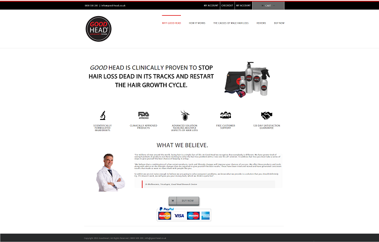 shop website design
