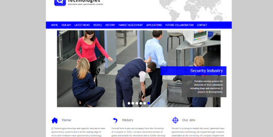web design for new company