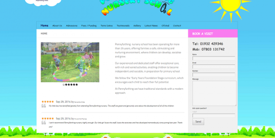 website designer for schools