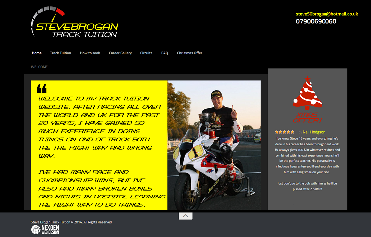 Motoring Tuition Web Design