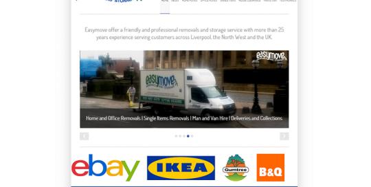 website re-design liverpool